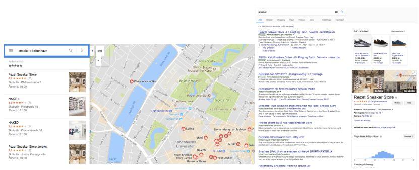 Lokal SEO på maps