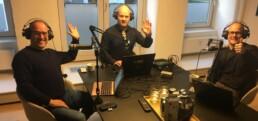 Gæsterne Martin og Carsten i studiet hos Rasmus!