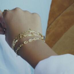 Maria Black Pinterest armbånd